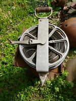 Rare Antique Surveyor Tape Reel