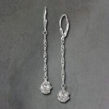 Echte Perlen-Schönheits-Ohrschmuck