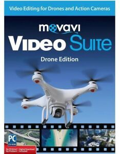 Encore Software Movavi Video Suite Drone Edition ~ Brand New & Factory Sealed!