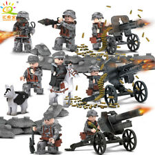 Toy Soldiers Bricks Mini Figures Army WWII Death Squad Fit lego Christmas Gift