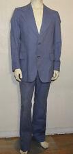 Pierre Cardin Boutique Line France vintage cotton stripe mens mod suit
