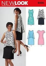 Nuevo aspecto patrón de costura misses » Vestido en 2 largos Talle 10 - 22 6430