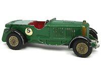 Matchbox Lesney Y5-1 Le Mans Bentley (RARE GREEN STEERING WHEEL)