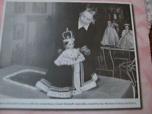 10pg Madame Alexander Coronation Doll History Article / of 1953 / Waller