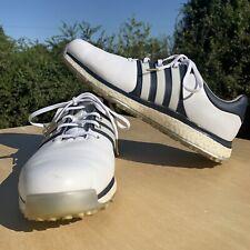 Adidas Boost Tour 360 XT SL Mens Golf Shoes BB7914 White/Navy Sz 12 Spikeless