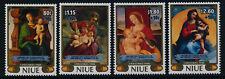Niue B56-9 MNH Art, Christmas, Paintings