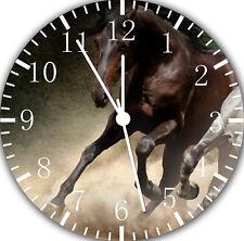 Beautiful Horse Frameless Borderless Wall Clock Nice For Gifts or Decor E376