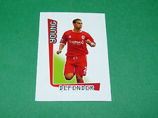 N°394 YOUNG MIDDLESBROUGH MERLIN PREMIER LEAGUE FOOTBALL 2007-2008 PANINI