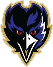 "Baltimore Ravens NFL Football Car Bumper Locker Notebook Sticker Decal 4""X5"""