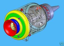 BUILD MINI TURBINE JET ENGINE PLANS CAD READY aa
