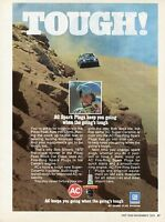 1972 AC ACniter Spark Plugs Bob Silver Chevy Camaro at Pikes Peak Hill Climb Ad