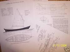 BANKS DORY  ship boat model boat plans