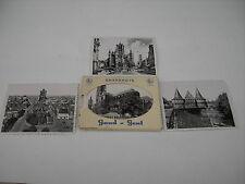 10 sw Fotos - Snapshots Real Photo  Gand - Gent aus den 50ern im Umschlag