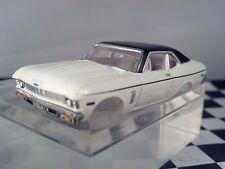 70 CHEVY NOVA SS White/Black T JET 500 HO SCALE SLOT CAR Body Only