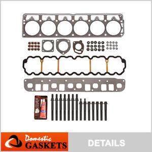 Fits 99-03 Jeep Grand Cherokee Wrangler TJ 4.0L OHV Head Gasket Head Bolts Set