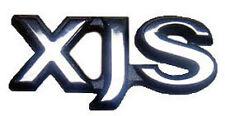 "NEW Jaguar Silver Chrome ""XJS"" Trunk Badge Emblem 1992-1996  BEC22057 OEM"