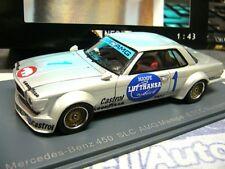 MERCEDES 450 SLC Racing AMG 1978 Heyer Mampe ETCC Nürburgring NEO Resin lim 1:43