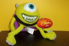"Mike Wachowski Halloween Vampire Dracula Disney Monsters University Plush 7"" NEW"