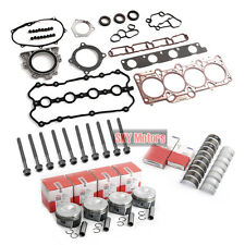 Engine Pistons Rings Gaskets Bolts Rebuild Kit For VW AUDI A4 2.0 TFSI BWT BPY