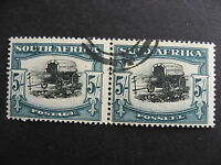 SOUTH AFRICA Sc 65 U pair, nice stamps, check them out!