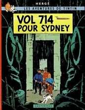 Hergé – Les Aventures de Tintin – Vol 714 pour Sydney - seconde édition
