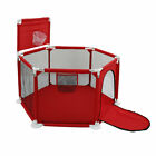 Baby Safety Playpen Play Yard Kid Activity Center Toddler Folding basket 59In