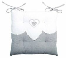 Lovely Casa Galette coton lin 40x40 cm