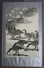 Vintage Framed 1984 Tom Taylor Field Museum Of Natural History - Gaggle Of Geese
