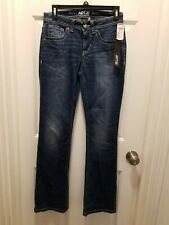 NWT Apt.9 Women's Modern Fit Embellished Bootcut Jeans, Size 2, Retail $54.00