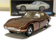 Tomica Toyota 2000GT Black Box Gift Custom Color Bronze Plated Vintage