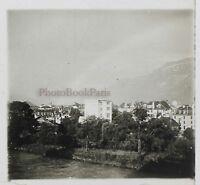 Interlaken Suisse Foto Stereo Th3n Placca Da Lente Vintage
