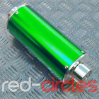 GREEN BIG BORE PIT DIRT BIKE EXHAUST MUFFLER 50cc 110cc 125cc 140cc PITBIKE