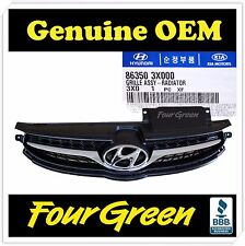 Genuine Radiator Grille for Hyundai Elantra 2011 2012 2013 OEM NEW [863503X000]