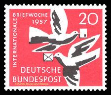 EBS Germany 1957 International Letter Writing Week Michel 276 MNH**