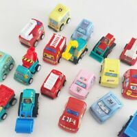 Children Mini Cars Toys Inertia Pull Back Vehicle Toy Fire Truck Cars Toy FD8
