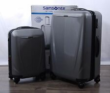 "Samsonite Sphere DLX 2-piece Polycarbonate Luggage Set Spinner Suitcase 28"" 20"""