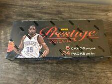 2013-14 Prestige Basketball Hobby Box 2 Autos & 2 Mem GIANNIS RC, KOBE BOX BREAK
