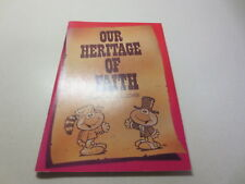 Our Heritage of Faith by Daniel H. Holcomb vintage 1983 Convention Press pb