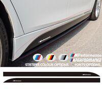 For BMW 3 M PERFORMANCE Side Skirt VINYL STICKER F30 F31