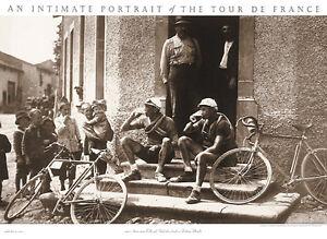 Tour de France SWISS RACERS TAKE BEER BREAK 1920s Cycling 22x30 POSTER Print