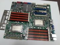 ASUS KGPE-D16, Socket G34,  with 2 x Opteron 6272 &  i/O shield, EATX Size