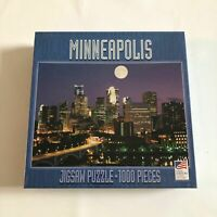 Great American Puzzle Factory Minneapolis 1000 Pieces Jigsaw Puzzle NEW