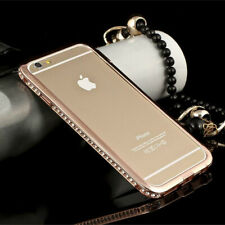 Metal Crystal Case Frame Aluminum Bumper Cover Shiny Diamond For IPHONE 6 s Plus