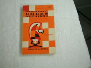 Complete Book of Chess Openings ~ Fred Reinfeld ~ 1958 ~ PB ~ 182 Pages