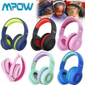 Mpow CH6 On-Ear Kinder Kopfhörer Ohrhörer Gehörschutz Faltbares Headset 3,5 mm