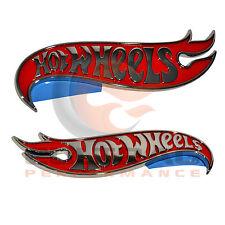 2010-2015 Camaro Genuine GM Hot Wheels Edition Fender Emblem Set