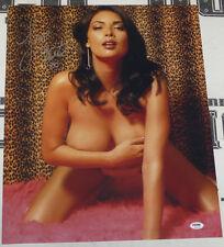 Tera Patrick Signed 16x20 Photo PSA/DNA COA Picture Poster Penthouse Club Auto 7