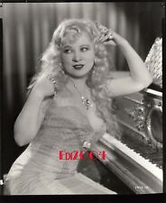 """MAE WEST Original Photo SEXY 1933 """"SHE DONE HIM WRONG"""" Pre-Code DBLE WT Portrait"""