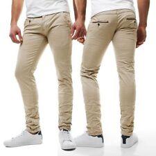 Jeans da uomo beige