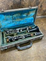 Vintage Boosey& Hawkes Woodwind Clarinet for parts or repairs